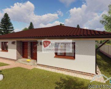 Novostavba 2 izbový bungalov v štandarde Čenkovce