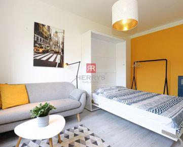 HERRYS, Prenájom pekného a moderného 1 izbového bytu pri Blumentálskom kostoliku v Starom meste