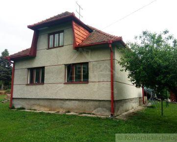 Rodinný dom v pôvodnom stave v obci Malé Hoste na predaj