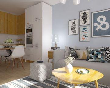 1i byt v novostavbe Zelené Vlčince (C.207)