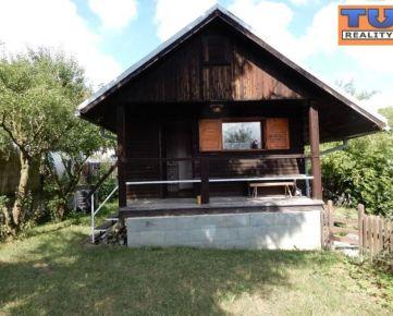 (REZERVOVANÉ)Záhradná chata Žilina-Višňové s odkúpeným pozemkom 490m². CENA: dohodou