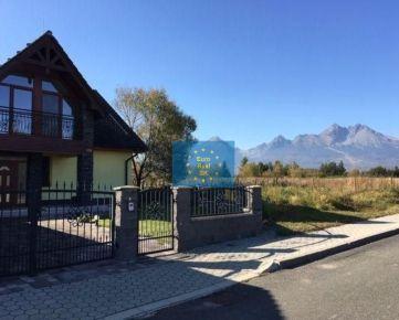 Predáme v Tatrách, Veľká Lomnica golfové ihrisko , stavebný pozemok  11.429 m2 ( aj po častiach ))