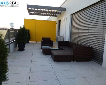 NA PRENÁJOM: 2 izbový byt s veľkou terasou v novostavbe ARBORIA