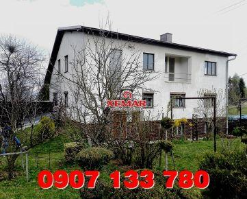 Predaj- veľký dvojgeneračný rodinný dom- Detvianska Huta