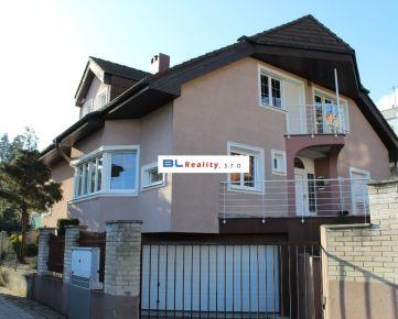 KOLIBA – moderný RD – klimatizácia - alarm: 7 iz., Bellova ul., Nové Mesto, 2 700.-€/mes. + 250.-€/mes. (energie)