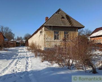 Pôvodný dom na 24á pozemku - Davidov