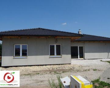 REZERVÁCIA !!!  TRNAVA REALITY- na predaj  4izbovú  novostavbu rodinného domu pri Piešťanoch