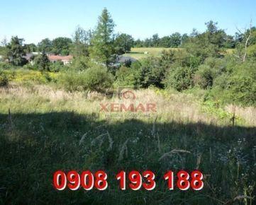 Na predaj slnečný, mierne svahovitý pozemok v obci Lutila okres Žiar nad Hronom