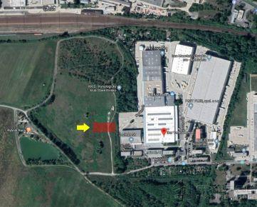 Pozemok na komerčné využitie 1110 m2, BA III. Rača, ul Na pántoch