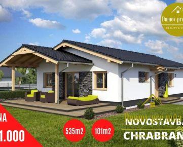 Kvalitná tehlová novostavba v obľúbenej lokalite Chrabrany