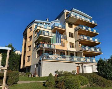 BA IV Karlova Ves Matejkova ul. predaj 3 izbového bytu s terasou 142,23 m a garáže 21m2.
