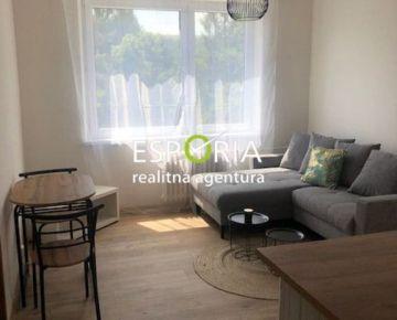 Nový 1i byt s kompletným zariadením na prenájom