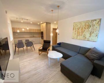 NEO – prenájom 2izbový nový moderný kompletne zariadený byt v tichej lokalite kúsok od City Arény