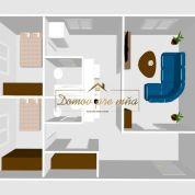 3-izb. byt 67m2, pôvodný stav
