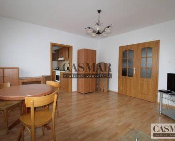 CASMAR RK – prenájom 2 izb. byt s 2 loggiami, Na hlinách
