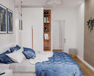 Veľký 1i. byt, Nám. Ľudovíta Štúra, pôvodný stav  + Vizualizácia