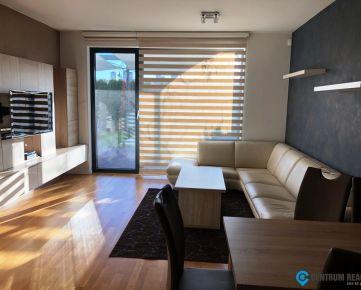 Prenájom: 3 izbový kompletne zariadený byt v novostavbe, parking, terasa, záhradka, vírivka