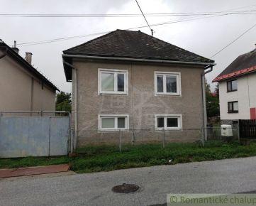 Čiastočne zrekonštruovaný rodinný dom Pohorelá