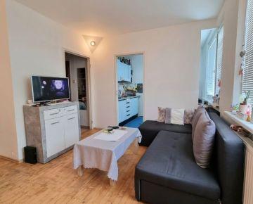 Rezervované !EXKLUZÍVNE NA PREDAJ Svetlý 1-izbový  byt typu bauring v peknom prostredí na Prednádraží!