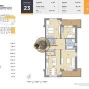 4-izb. byt 81m2, novostavba