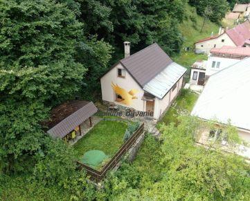 Exkluzívne INVESTIČNÁ PRÍLEŽITOSŤ: domček v prostredí Nízkych Tatier