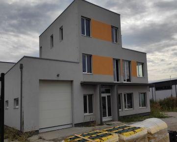 Nový kancelársky a skladový priestor 1NP s garážou v štandarde 207,6 m2 - nová administratívna budova Zavarská ul.