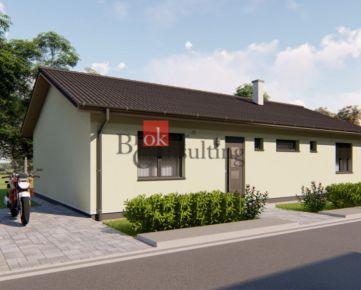 4 izbový rodinný dom Bánovce nad Bebravou na preda, novostavba Dvorec