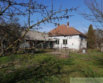 Rodinný dom v pôvodnom stave s veľkým pozemkom neďaleko Malého Dunaja - Potônske Lúky
