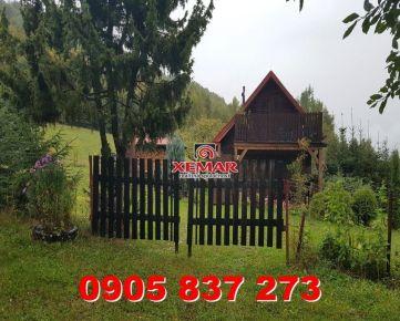 Na predaj rekreačná chatka nad obcou Hronec - okres Brezno