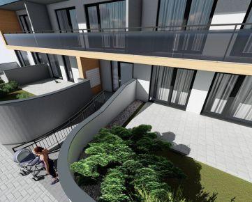 Sunnyhome.sk - 2 izbový byt so záhradkou a terasou - ŠTANDARD/PARKING