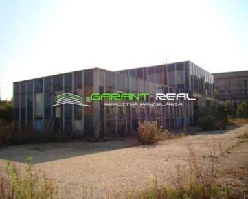 GARANT REAL - predaj výrobno - skladový areál, OV, pozemok 2,65 ha, Trebišov