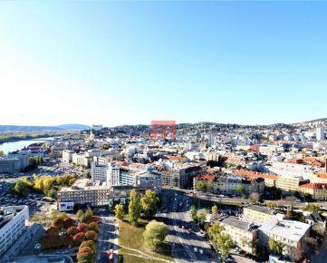 Na prenájom nadštandardný a luxusný 2 izbový byt v Panorama City s výhľadom na Staré Mesto a Hrad