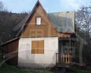 Chata na väčšom pozemku - Omšenie pri Trenčíne na predaj