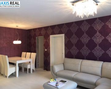 NA PRENÁJOM : NOVOSTAVBA ARBORIA Luxusný , jedinečný , veľký , krásne zariadený 4 izbový byt s terasou.