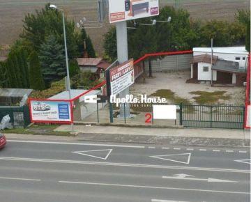 Pozemok na prenájom Podunajské Biskupice 500m2