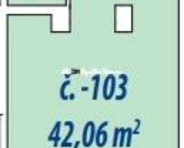 Nebytové priestory 42,06m2