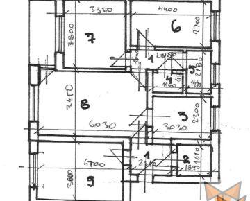 FOX - 4 izbový byt * Veterná ulica * komora * vyhľadávaná lokalita