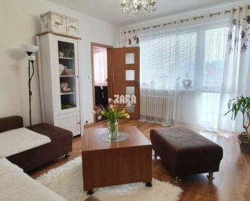 Krásny 1-izbový byt ul. Wuppertálska, 36 m², loggia, pekný výhľad.