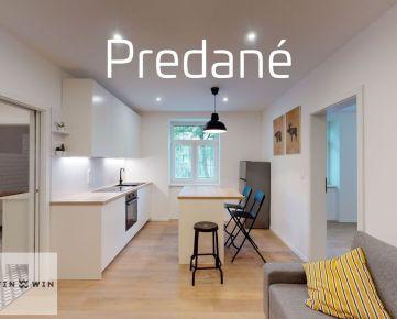 PREDANÉ 2 izbový byt, Kompletná rekonštrukcia (2020), Tehla, Bratislava - Staré Mesto, Žabotova ulica