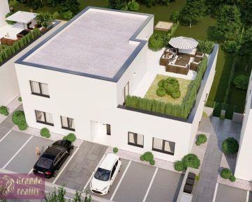 Novostavba 3 - izbového bytu 108,80 m2, terasa 83,5 m2, parkovacie státie 2x, 109.000 € !!