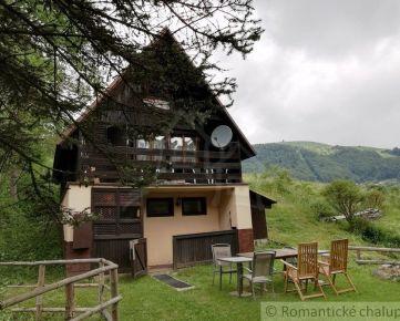 Chata  Donovaly -Mistríky a priľahlý pozemok s architektonickou štúdiou na stavbu novej chaty