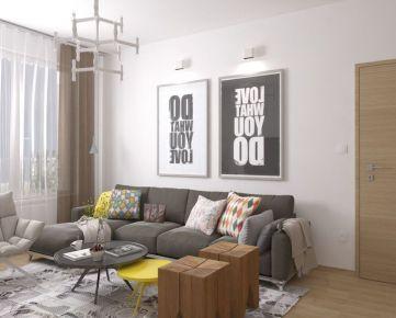 4i byt s dvoma balkónmi Zelené Vlčince (C.201)