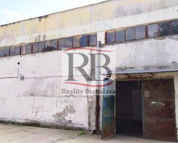 Výrobno-skladový priestor na prenájom na ulici Mlynské Nivy v Ružinove, BAII, 261m2
