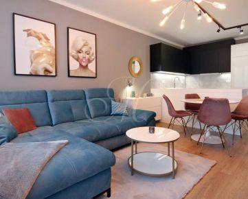 Exkluzívny 3i byt na prenájom v Bratislave v novostavbe v centre