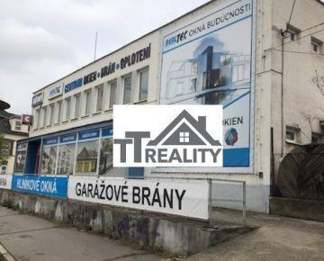 Obchodná budova - polyfunkčný objekt 720.000,- eur