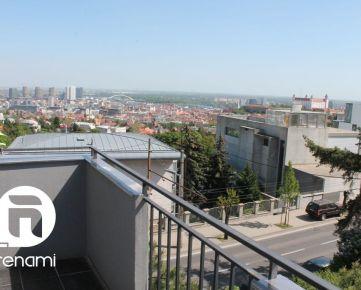Predaj 4 izbový byt Bratislava - Staré Mesto - Mudroňova ulica, 109m2 + terasa + 2 loggie