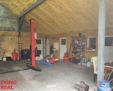 Dielňa/ hobby auto dielňa 100 m2+kancelária a zázemie 40 m2 vo Vrakuni