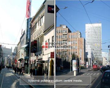 Predaj polyfunkčný objekt na Obchodnej ulici v Bratislave