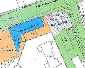 Pozemok v širšom centre Trnavy.