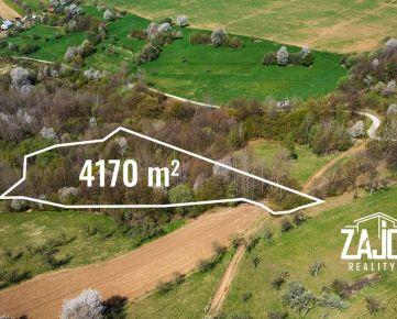 NA PREDAJ   Pozemok Horná Súča 4.170 m2 - časť Trnávka